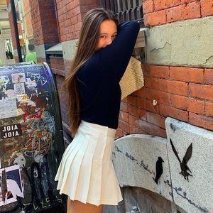 Brandy pleated skirt